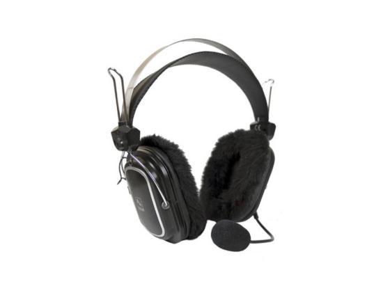 Гарнитура A4Tech HS-60, Black рег.громк.+выключатель a4tech hs 30 black