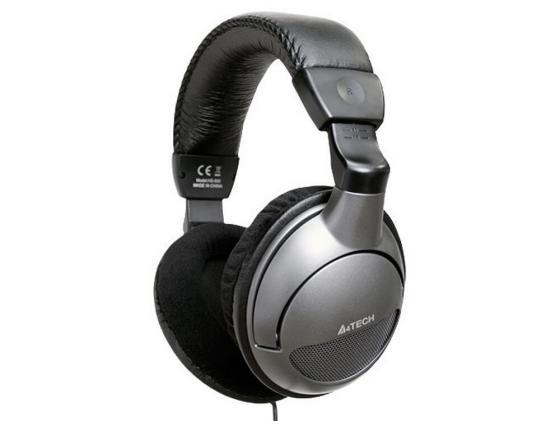 Гарнитура A4Tech HS-800, Black, игровая стерео гарнитура цена в Москве и Питере