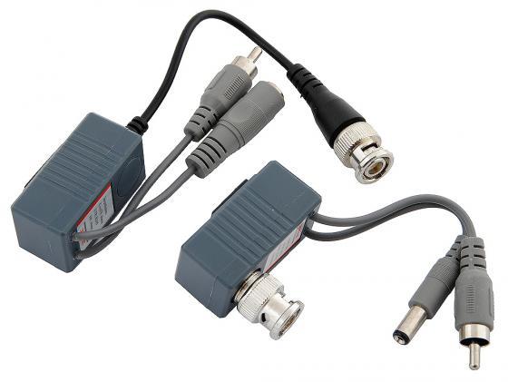 Комплект ORIENT NT-621 приёмник+передатчик для передачи по витой паре RJ-45 видео BNC+питание Retail