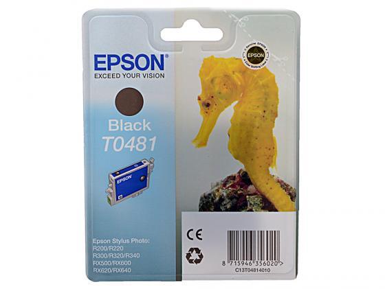Картридж Epson C13T04814010 для R200 R220 R300 R320 R340 RX500 RX600 RX620 Black Черный new original print head for epson photo r200 r210 r220 r230 r350 g700 g720 d800 r340 r230 print head