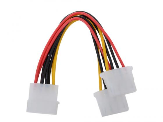 Фото - Разветвитель питания Molex - 2xMolex Gembird CC-PSU-1 free shipping 1set molex 16pin electric plug 33472 1601 wiring harness cable molex connector 33472 1740
