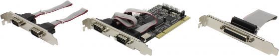 Контроллер PCI ST-Lab I440 4xCOM+1xLPT Retail контроллер st lab u 1600
