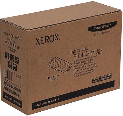 Картридж Xerox 108R00796 для Phaser 3635MFP 10000стр. картридж xerox 108r00796 для xerox ph 3635 черный