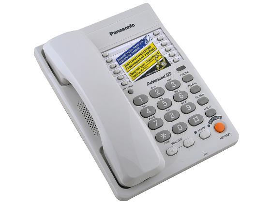 Телефон Panasonic KX-TS2363RUW белый цена и фото