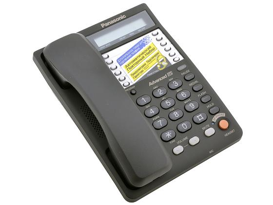 Телефон Panasonic KX-TS2365RUB черный