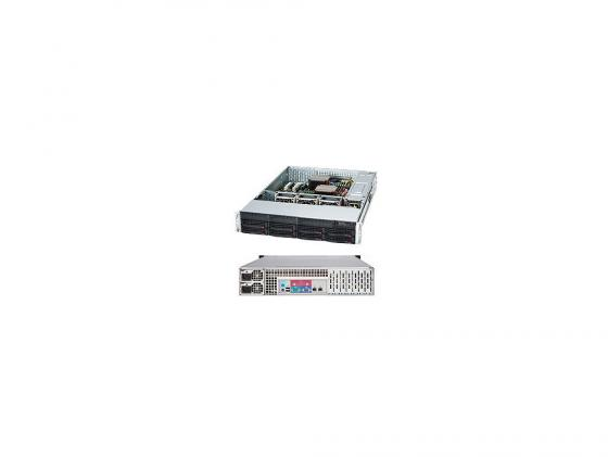 Серверный корпус 2U Supermicro CSE-825TQ-R720LPB 720 Вт чёрный корпус supermicro cse 825tq 563lpb