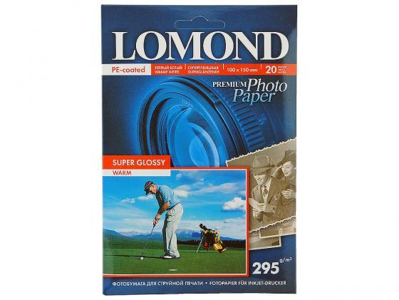 Фото - Фотобумага Lomond 10*15 295 г/кв.м суперглянецевая 20л 1108103 фотобумага
