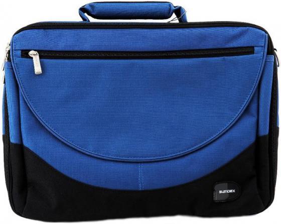 """купить Сумка для ноутбука 15"""" Sumdex PON-302NV нейлон-полиэстер синяя недорого"""