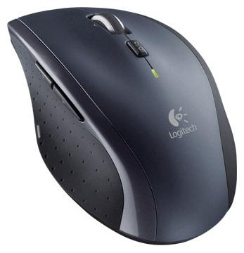 Мышь беспроводная Logitech M705 чёрный серебристый USB 910-001949