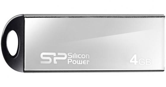 Флешка USB 4Gb Silicon Power Touch 830 SP004GBUF2830V1S серебристый