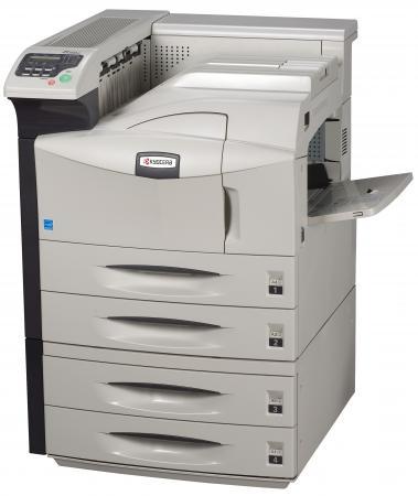 Принтер Kyocera FS-9530DN ч/б A3 51ppm 600x1200dpi Duplex Ethernet LPT USB принтер kyocera fs 9530dn 1102g13nl0