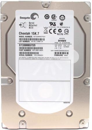 Жесткий диск 3.5 SAS 300Gb 15000rpm 16Mb Seagate Cheetah 15K.7 ST3300657SS new for 0959r4 equallogic 300gb 15k sas ps6000 st3300657ss 1 year warranty