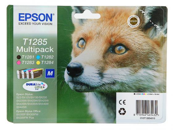 набор картриджей epson t1295 multipack c13t12954010 Набор картриджей Epson C13T12854010/12/20 Multipack для S22 SX125