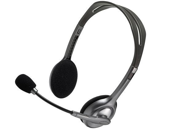 все цены на Гарнитура Logitech Stereo Headset H110 981-000271