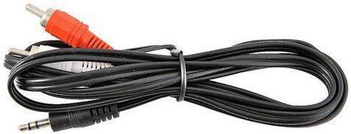 Кабель соединительный 3.0м VCOM Telecom 3.5 Jack (M) - 2xRCA (M) стерео аудио VAV7183-3M кабель jack jack roland кабель межблочный стерео jack стерео jack rhc 25 1414 7 5 m