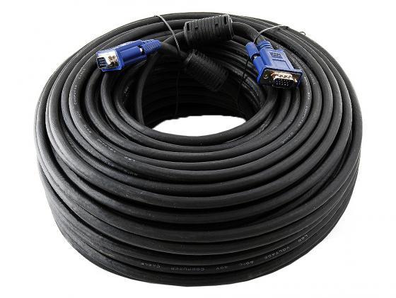 Кабель VGA 50м VCOM Telecom 2 фильтра VVG6448-50M Carton packing кабель vga 50м vcom telecom 2 фильтра vvg6448 50m carton packing
