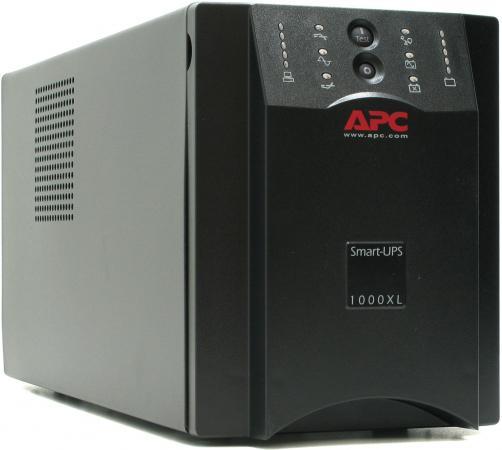 ИБП APC SMART 1000VA SUA1000XLI ибп apc smart 1000va smc1000i 2u