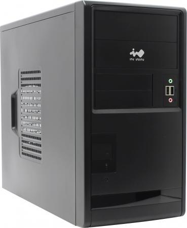 Корпус microATX InWin EMR013 450 Вт чёрный корпус microatx inwin enr 028bl 400 вт чёрный