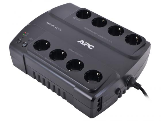 ИБП APC BACK 700VA BE700G-RS ибп apc be700g rs