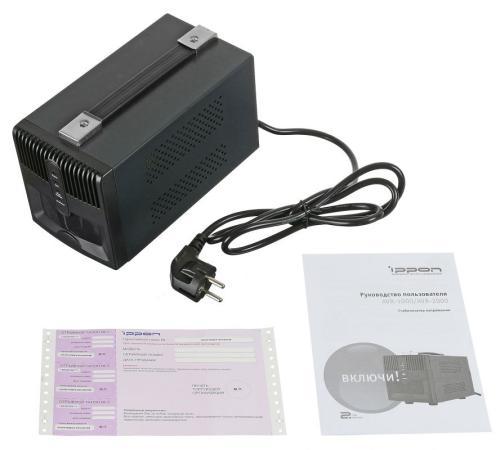 Стабилизатор напряжения Ippon AVR-2000 4 розетки 1 м черный other tamehome 2015 1 4 hifi