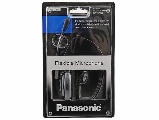 Гарнитура Panasonic RP-TCA400E-K черный недорого