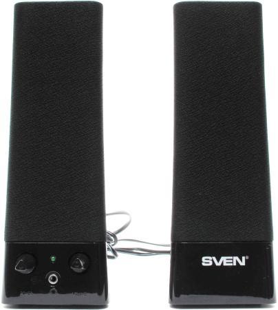 Колонки Sven 235 2х2 Вт черный