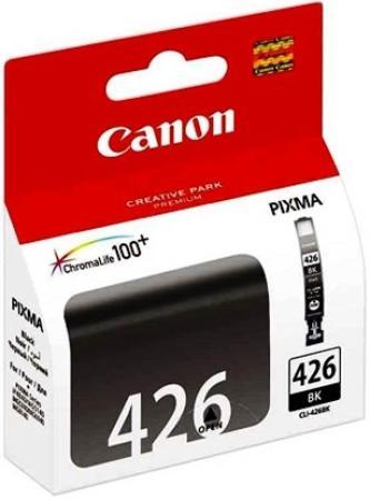 Картридж Canon CLI-426BK для iP4840 MG5140 MG5240 MG6140 MG8140 черный картридж canon cli 426bk черный [4556b001]