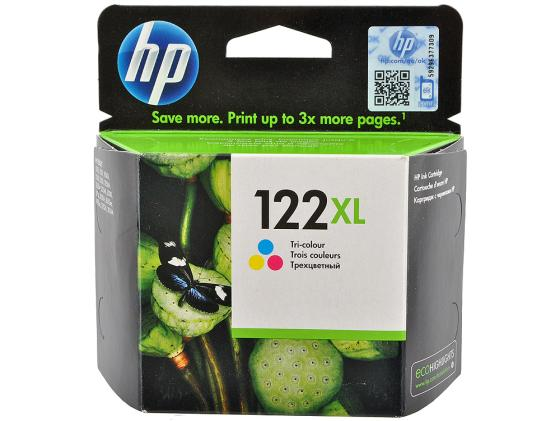 Картридж HP CH564HE №122XL для DeskJet 1050 2050 2050s цветной for hp 122 black ink cartridge for hp 122 xl deskjet 1000 1050 2000 2050 3000 3050a 3052a printer