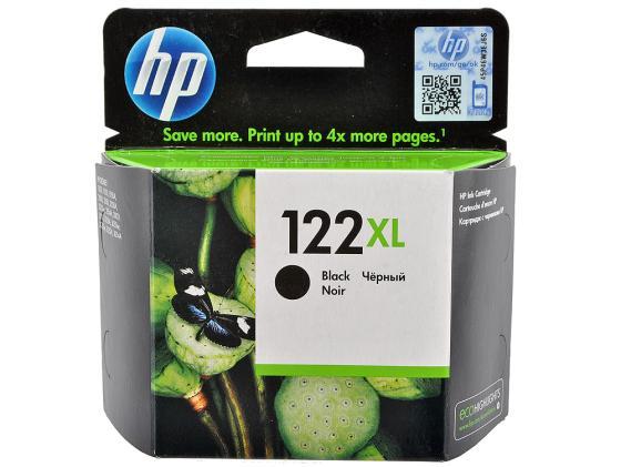 Картридж HP CH563HE №122XL для DeskJet 1050 2050 2050s черный for hp 122 black ink cartridge for hp 122 xl deskjet 1000 1050 2000 2050 3000 3050a 3052a printer