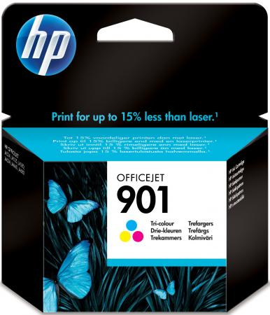 Картридж HP CC656AE №901 для OfficeJet J4524 J4540 J4550 J4580 J4624 цветной cactus cs cc654 901 black картридж струйный для hp officejet 4500 j4580 j4660 j4680