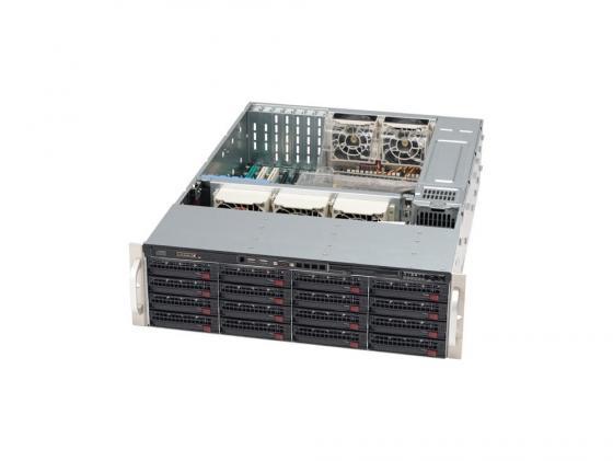 Серверный корпус SuperMicro CSE-836TQ-R800B 3U E-ATX 13.68''x13' 16x3.5'' HotSwap SAS/SATA SES2 800Вт черный fl 039 cu helios