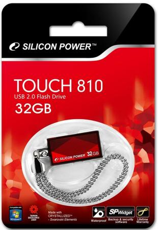 Флешка USB 32Gb Silicon Power Touch 810 SP032GBUF2810V1R красный