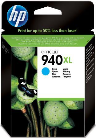 Картридж HP C4907AE №940XL для Officejet Pro 8000 8500 голубой картридж струйный hp 940 c4902ae черный для hp oj pro 8000 8500