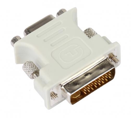 Переходник VCOM Telecom DVI-VGA 29M/15F VAD7817 переходник vcom telecom vad7817 dvi vga 29m 15f