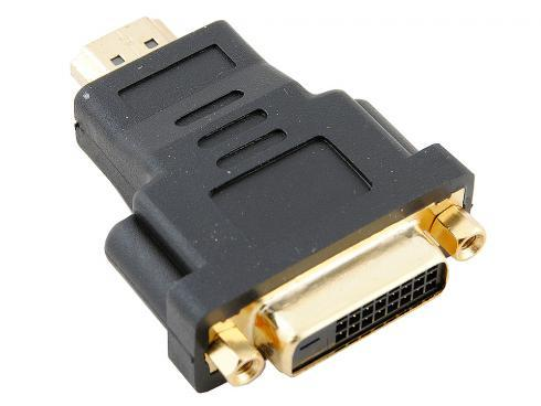 Переходник HDMI M - DVI F VCOM Telecom VAD7819 переходник ningbo hdmi m dvi d f позолоченные контакты черный cab nin hdmi m dvi d f
