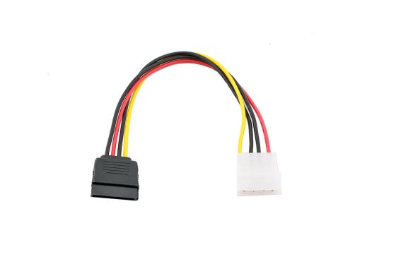 Переходник питания на 1 HDD Serial ATA VCOM Telecom VPW7571 marsnaska excellent 1pcs serial ata sata 4 pin ide to 15 hdd power adapter cable hard drive male female