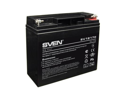 Батарея Sven SV12-17 (SV12170) батарея sven sv1272 12v 7 2ah