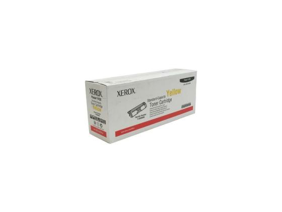 Картридж Xerox 113R00690 для Xerox Phaser 6120 Yellow 1500стр картридж xerox yellow 106r01337