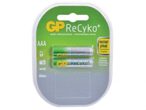 Аккумулятор 800 mAh GP ReCyko+ AAA 2 шт 85AAAHCB-2CR2