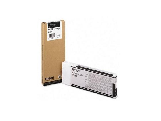 Картридж Epson C13T606100 для Epson Stylus Pro 4880 Photo Black черный картридж epson t009402 для epson st photo 900 1270 1290 color 2 pack
