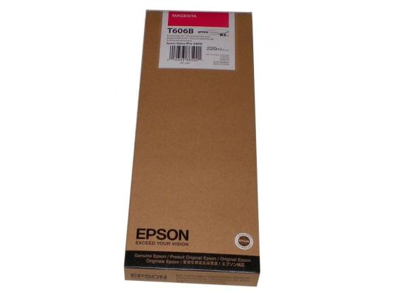 Картридж Original Epson [C13T606B00] для Epson Stylus Pro 4880 (220 мл) Magenta for epson 4880 4800 head data cable 31 pins 2pc 30 pins 1pc 110cm long