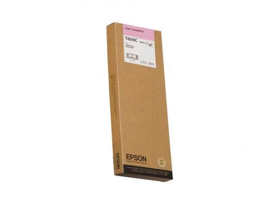 Картридж Epson C13T606C00 для Epson Stylus Pro 4880 светло-пурпурный картридж epson c13t605300 для epson stylus pro 4880 vivid magenta пурпурный