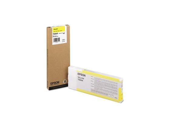 Картридж Epson C13T606400 для Epson Stylus Pro 4880 желтый 220 мл картридж epson c13s020451 для epson pp 100 100ap 100ii 100n 100n security 50 желтый