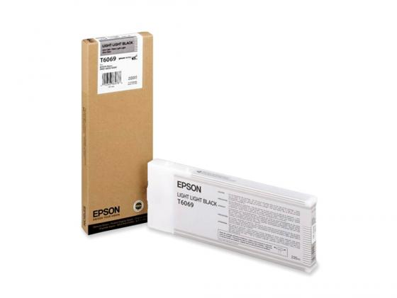 Картридж Epson C13T606900 для Epson Stylus Pro 4880 светло-серый картридж c13t606900 epson для stylus pro 4880 220 мл светло светло черный c13t606900