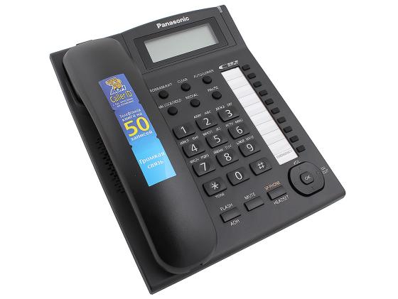 Телефон Panasonic KX-TS2388RUB черный телефон