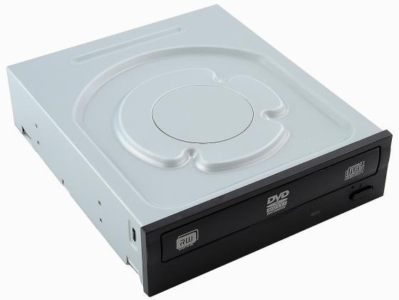 Привод для ПК DVD±RW Lite-On IHAS122-04/-14/-18 SATA черный OEM оптический привод dvd rw lite on ds 8acsh внутренний sata черный oem