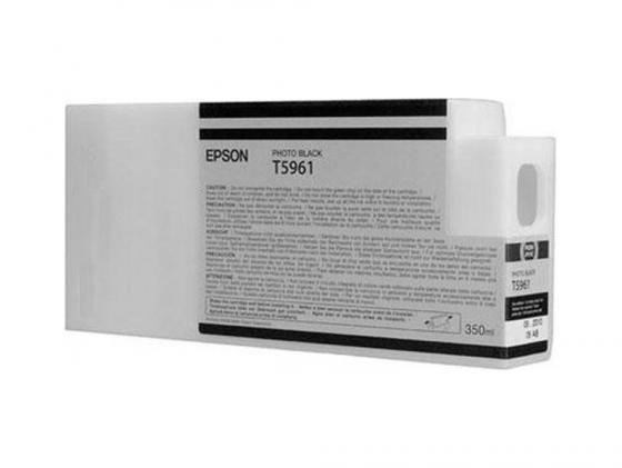 Картридж Epson C13T596100 для Epson Stylus Pro 7900/9900 Photo Black черный