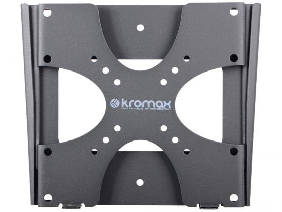 Кронштейн Kromax VEGA-4 Серый до 37 фиксированный VESA 200х200мм до 35кг kromax vega 9