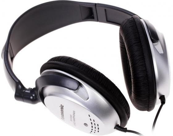 Наушники Panasonic RP-HT223GU-S Silver technics rp dj1210e s мониторные наушники black silver