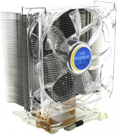 Кулер для процессора Ice Hammer IH-4350B Rev2 Socket 775/AM2/754/939/940 кулер для процессора ice hammer ih 2towers socket 1366 1156 1155 775 am2 am3 754 939 940